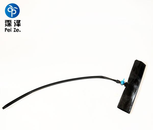 滴灌管与PE管连接