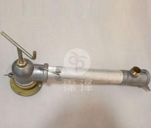 上阀体和铝管连接